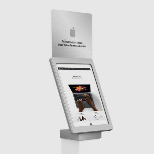 Apple Interactive Support Stands