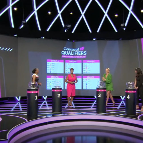 ConcacafWomen's Qualifiers Draw